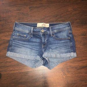 Short Short Light-wash Denim Shorts